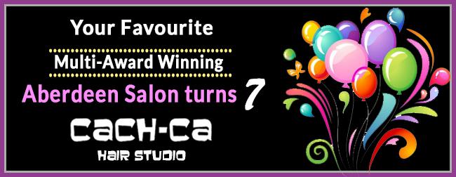 Cach ca hair studio your favourite aberdeen salon turns for Aberdeen beauty salon
